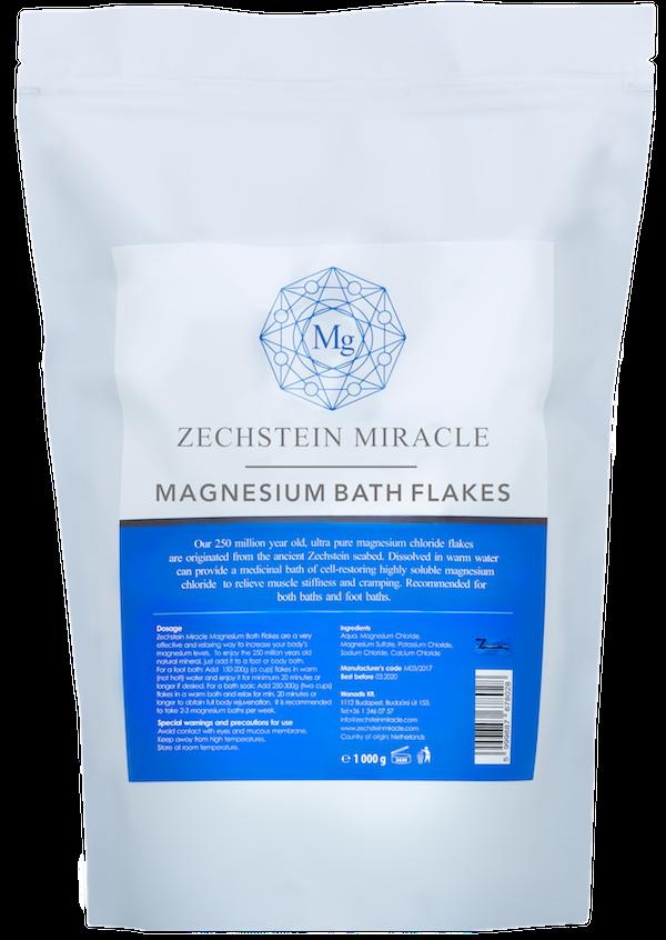 Zechstein Miracle Magnesium Bath Flakes - 200 g