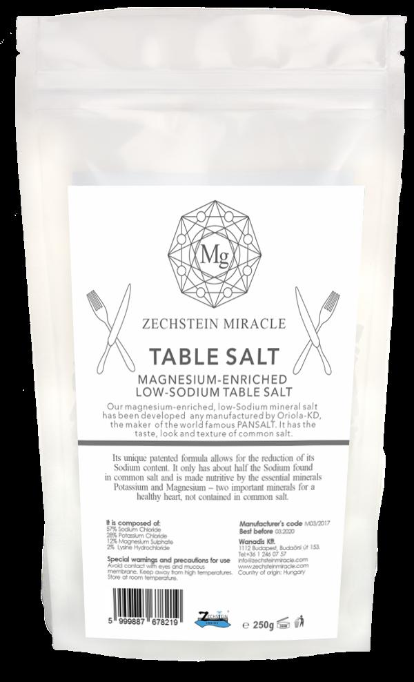Zechstein Miracle Magnesium Table Salt - 250 g