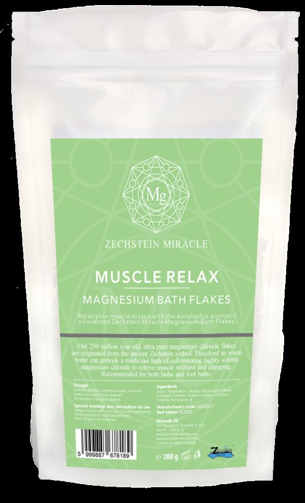 Zechstein Miracle Magnesium Bath Flakes - 200 g - Eucalyptus scent